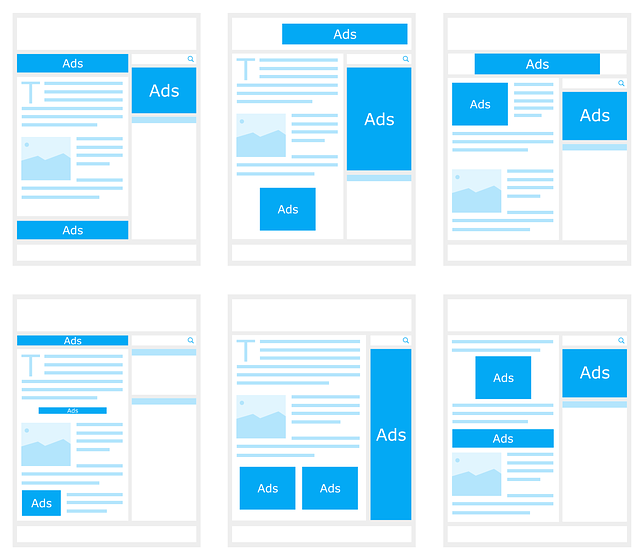 Google AdSense баннера