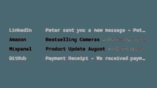 Маркетинговые электронные письма