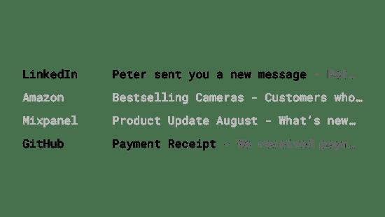 Транзакционные электронные письма